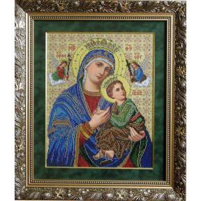 Набор для вышивания бисером БС Солес Богородица неустанной