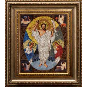 Набор для вышивания бисером БС Солес Воскресенние Христово ВХ
