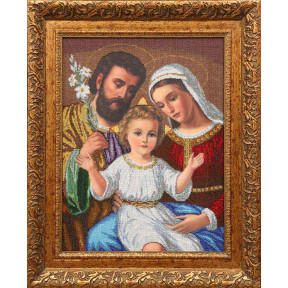Набор для вышивания бисером БС Солес Святое семейство (больш) ССВ