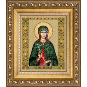 """Набор для изготовления картины со стразами Чарівна Мить """"Икона святой мученицы Надежды""""  КС-122"""
