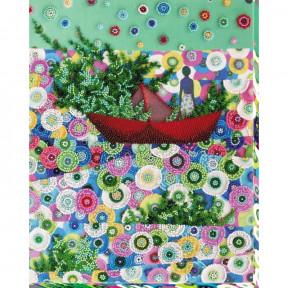 Набор для вышивки бисером на холсте Абрис Арт «Весна идёт - весне дорогу!» АВ-682