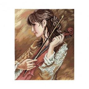 Набор для вышивки крестиком RTO Соната для скрипки M437