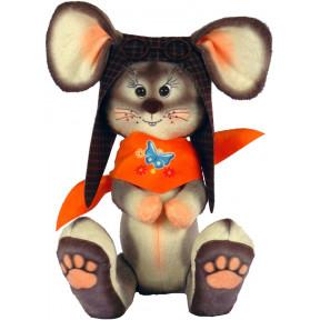 Набор для шитья мягкой игрушки ZooSapiens Крысенок в шлеме  М4010