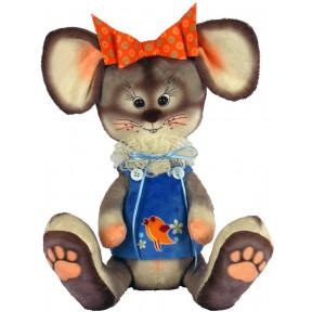 Набор для шитья мягкой игрушки ZooSapiens Крыска М4011