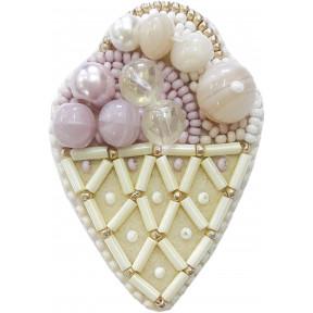 """Набор для изготовления броши Crystal Art """"Десерт"""" БП-189"""
