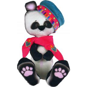 Набор для шитья мягкой игрушки ZooSapiens Панда в берете М4016