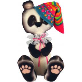 Набор для шитья мягкой игрушки ZooSapiens Панда в колпачке М4017