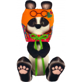 Набор для шитья мягкой игрушки ZooSapiens Панда в шлеме М4018
