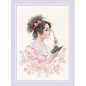"""Набор для вышивания крестом Риолис """"Книжный клуб"""" 1792"""