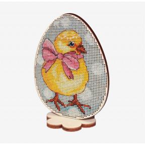 Набор для вышивки крестом Alisena Пасхальная -кролик– на подставке 5509-А