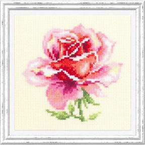 """Набор для вышивки крестом Чудесная игла """"Розовая роза"""" 150-002"""