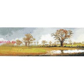 Схема для вышивания Heritage Crafts Winter Fields HC615