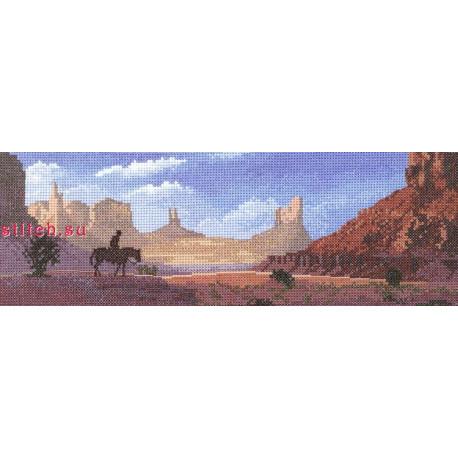 Схема для вышивания Heritage Crafts Monument Valley HC614