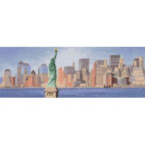 Схема для вышивания Heritage Crafts New York Skyline HC674