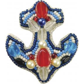 """Набор для изготовления броши Crystal Art """"Якорь"""" БП-206"""