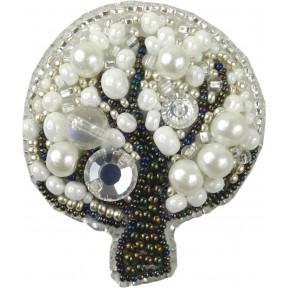 """Набор для изготовления броши Crystal Art """"Дерево"""" БП-208"""