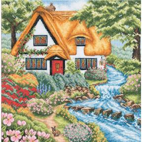 Набор для вышивания Anchor Cottage Stream PCE959
