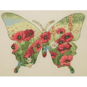 Набор для вышивания Anchor MAIA Butterfly Silhouette 05044