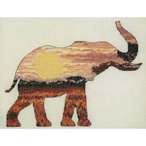 Набор для вышивания Anchor MAIA Elephant Silhouette 05040