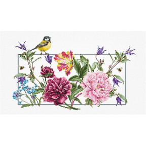 Набор для вышивки крестом Luca-S BA2353 Романтические розы