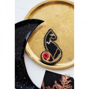 """Набор для вышивки бисером украшения на натуральном художественном холсте Абрис Арт AD-048 """"Леди"""""""