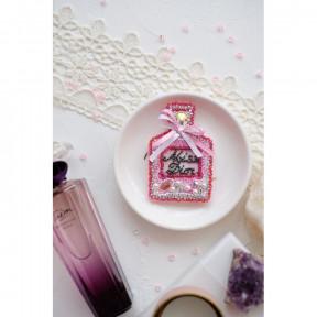 """Набор для вышивки бисером украшения на натуральном художественном холсте Абрис Арт """"Мисс Диор"""" AD-037"""
