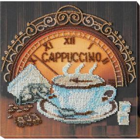 """Набор для вышивки бисером на холсте Абрис Арт """"Кофе и шоколад"""" АМВ-039"""