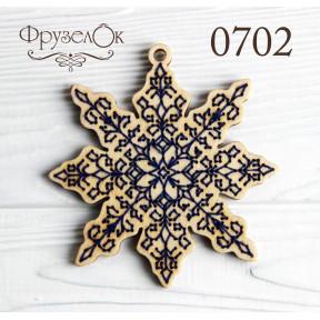 """Набор для вышивки крестом на деревянной основе ФрузелОк""""Вдохновение"""" 0702"""