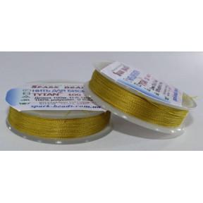 Бисерная нить TYTAN оливковая, 100м ,2513