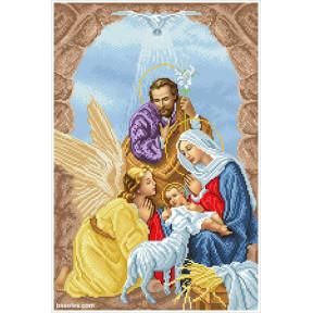 Набор Для Вышивания Бисером БС Солес Рождество Христово РХ-2