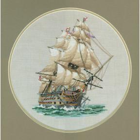 Набор для вышивания крестом Heritage Crafts H.M.S. Victory H309