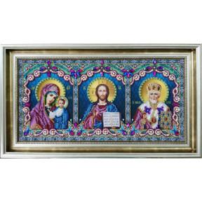 Набор для вышивания бисером Картины Бисером Архангел Гавриил Р-397