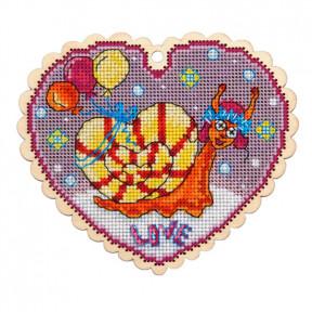 Набор для вышивки крестом Alisena Зайчик 5551