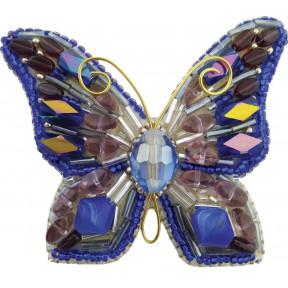 """Набор для изготовления броши Crystal Art """"Мотылёк"""" БП-214"""