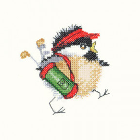 Набор для вышивания крестом Heritage Crafts Golfing Chick  H839
