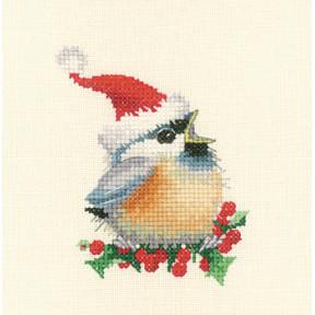 Набор для вышивания крестом Heritage Crafts Christmas Chick H866