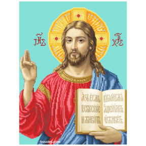 """Набор для вышивания бисером БС Солес """"Иисус (намисна)"""" ІН"""