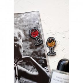 """Набор для вышивки бисером украшения на натуральном художественном холсте Абрис Арт """"Искристое"""" AD-053"""