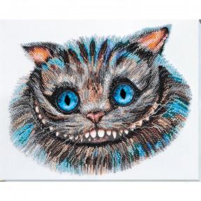 Набор для вышивки бисером на холсте Абрис Арт  «Чеширский кот» АВ-687