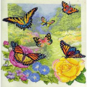 Набор для вышивания Bucilla 45438 Butterfly Garden фото