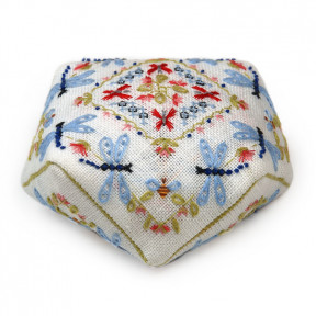 Набор для вышивки крестом Alisena 7017а Декоративна подушка — лотос