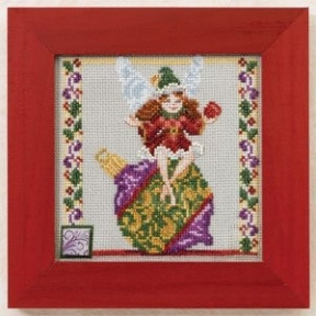 Набор для вышивания Mill Hill Ornament Fairy JS301103