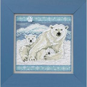 Набор для вышивания Mill Hill Polar Bears MH144305
