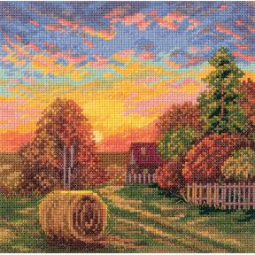 Набор для вышивки крестом Panna ПС-7151 Осенние росы