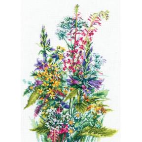 Набор для вышивки Сделай Своими Руками Полевые цветы П-50