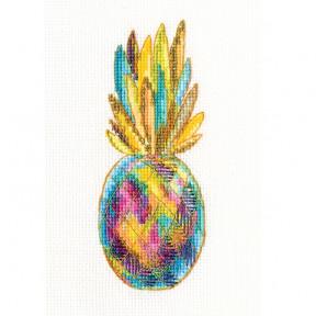 Набор для вышивки крестом RTO Ювелирный ананас C320