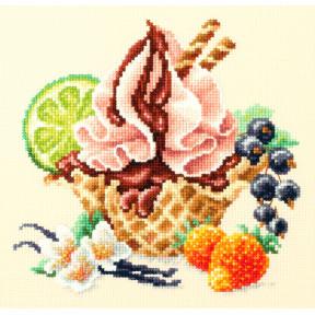 """Набор для вышивки крестом Чудесная игла """"Ванильное мороженое"""" 120-071"""