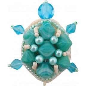 """Набор для изготовления броши Crystal Art """"Черепаха"""" БП-224"""