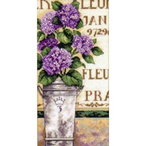 Набор для вышивания крестом Dimensions 65092 Hydrangea Floral