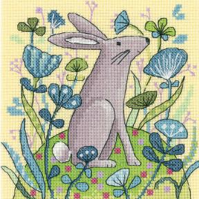 Набор для вышивания крестом Heritage Crafts Hare H1328
